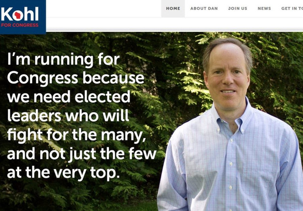 Dem Dan Kohl Comes From Left-Wing J Street To Campaign For Wisconsin Seat