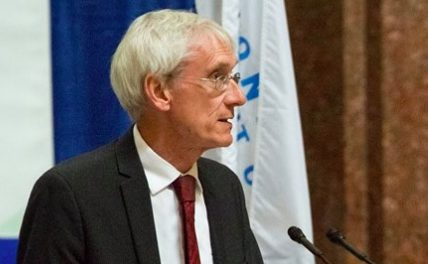 Tony Evers, the statewide champ