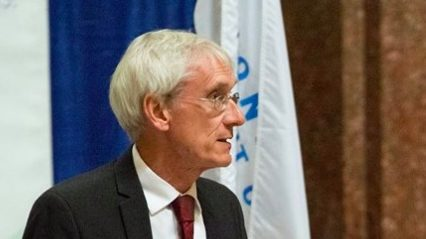 For a Guy Who Isn't Running Yet, Tony Evers Sure Is Busy Asking for Money