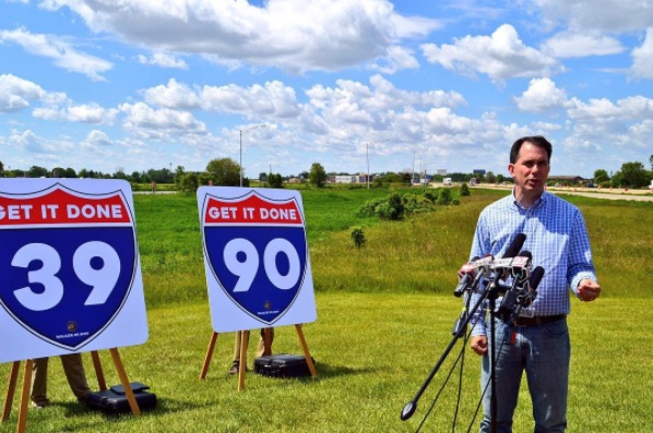 Walker Sounding Upbeat About Budget, Foxconn Package