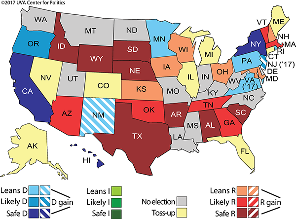 Sabato's Crystal Ball Report Assesses Walker Re-Election Bid