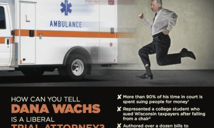 GOP Points Out Wachs Practiced Running for Governor Chasing an Ambulance