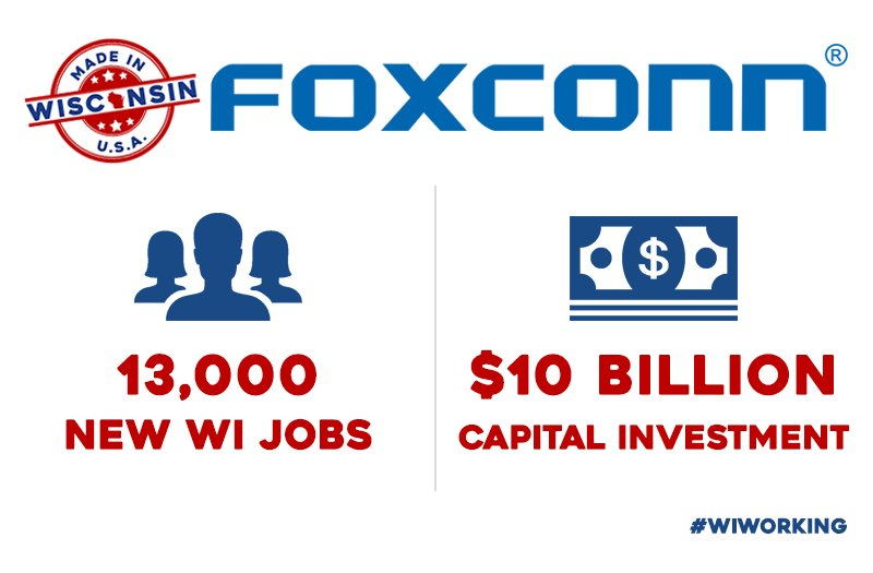 Assembly Republicans Set Amendments, Hearing On Foxconn Bill