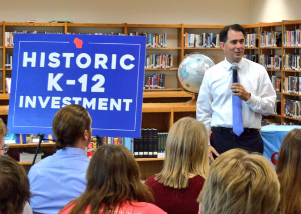 Walker Weekly Radio Address: 2017-19 Budget Makes Major Investment in Education