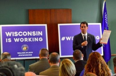 Governor Scott Walker: Wisconsin is Working.