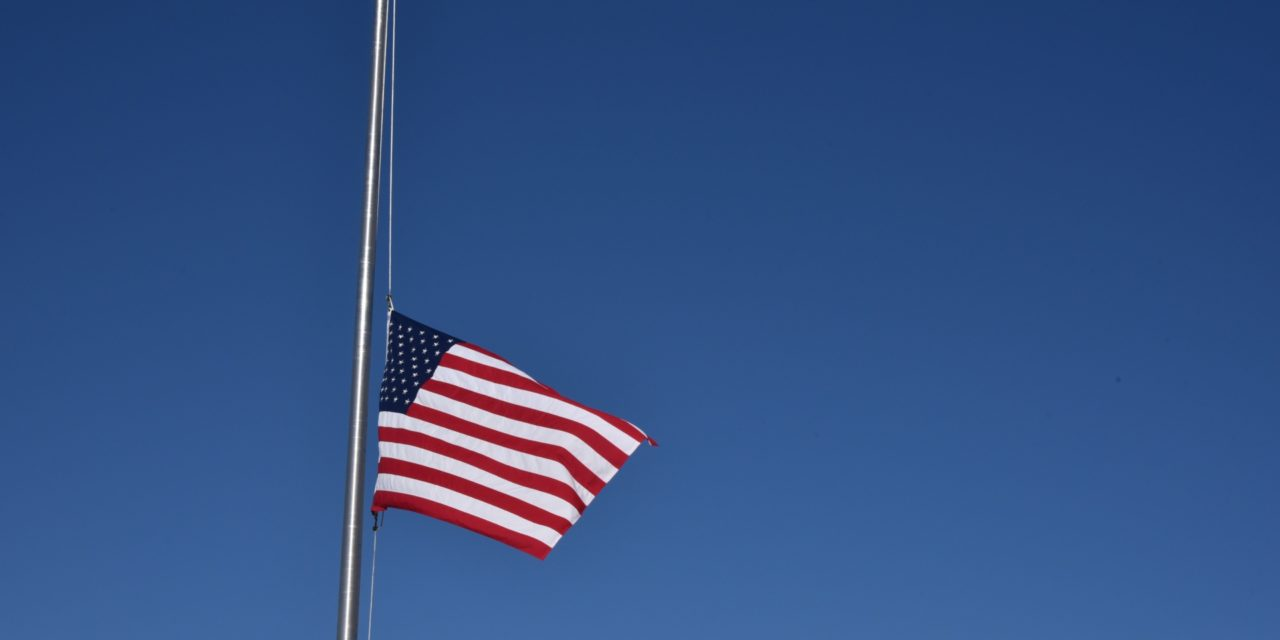 Flags to Half Staff for Bob Gannon, Jerry Kleczka