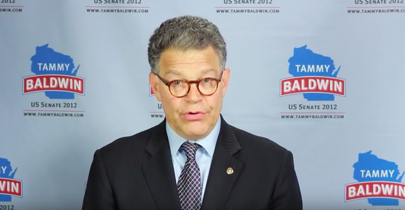 Al Franken's Troubles Come Home to Sen. Baldwin, Randy Bryce