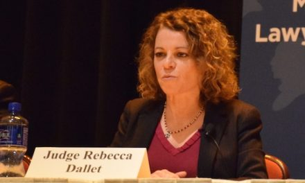 Dallet Attacks the Criminal Justice System —  the Same One Where She Worked For Decades