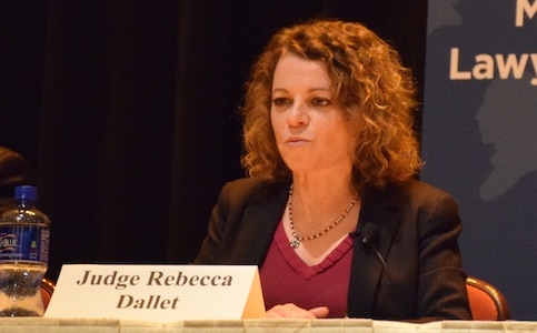 Dallet would vote against Walker, GOP reforms