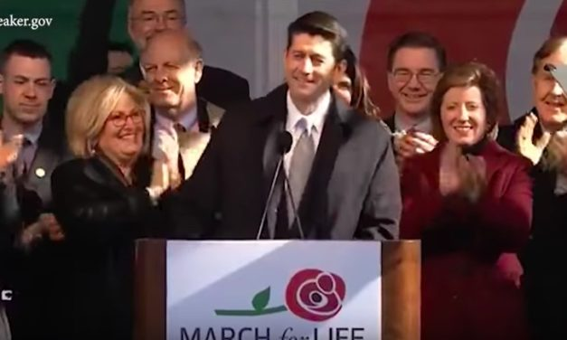 House Speaker Paul Ryan at the March for Life