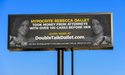 New RPW Billboards to Greet Dallet on Campaign Trail
