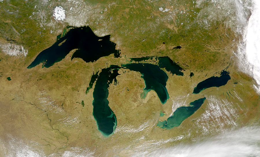 Great Lakes' natural fluctuation