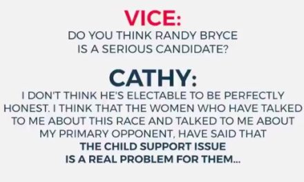 Cathy Myers Dumps on Randy Bryce's Child Support Issues