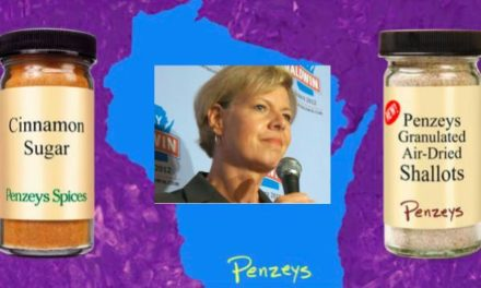 Penzey Corporate Advertising Vote for Baldwin Message
