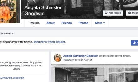 """Self-Described """"Union Thug"""" Goes After RightWisconsin Editor's Minor Daughter"""