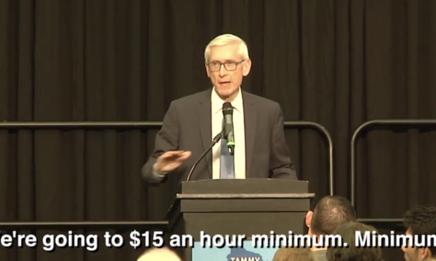 Evers Pledges $15 Minimum Wage, Or Higher