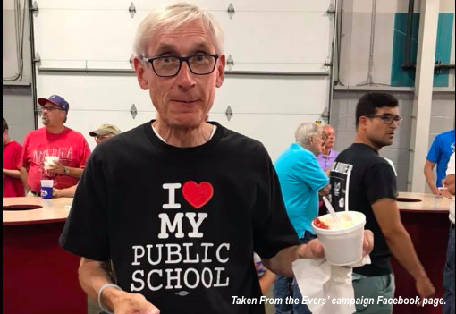 Evers Caught Plagiarizing Parts of Schools Budget