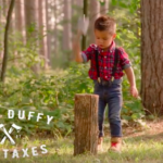 Youngest Family Lumberjack Makes Debut in Duffy Campaign