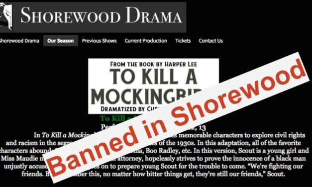 Shorewood Cancels Mockingbird Play Again Due to Mental Instability