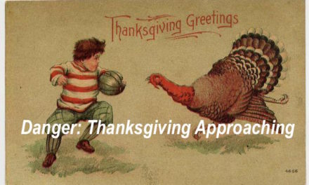 Warning from State Government: Thanksgiving Can Kill You