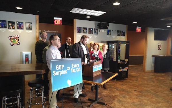 Republicans Propose Middle Class Tax Cut to Meet Evers Campaign Promise