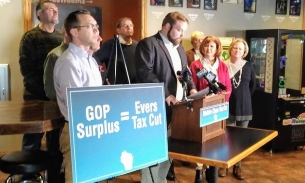 Evers Rejects Common-Sense Tax Cut