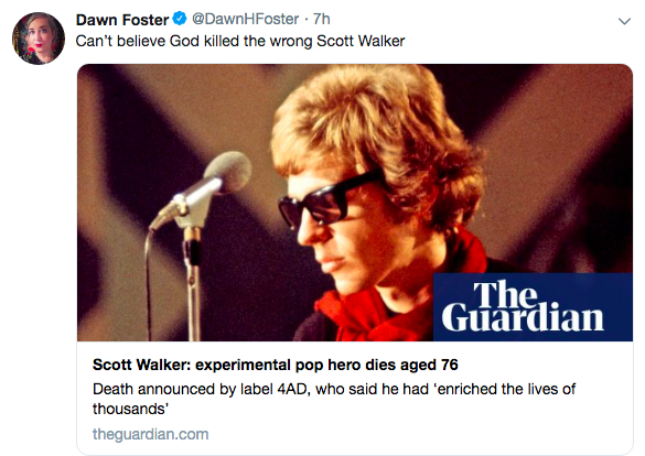 """Wrong"" Scott Walker Died According to Leftists"
