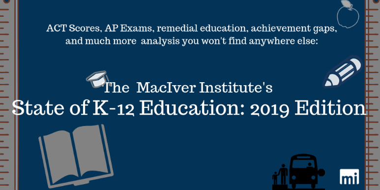 The MacIver Institute's State of K-12 Education: 2019 Edition