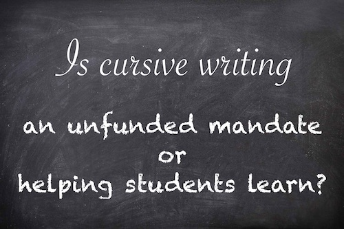 The Science Behind Cursive Writing Is Unconvincing