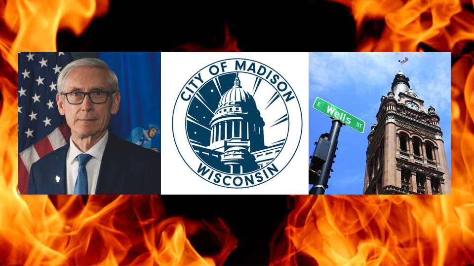 Gov. Evers speaks about George Floyd protests, doesn't mention rioting or violence in Madison, Milwaukee