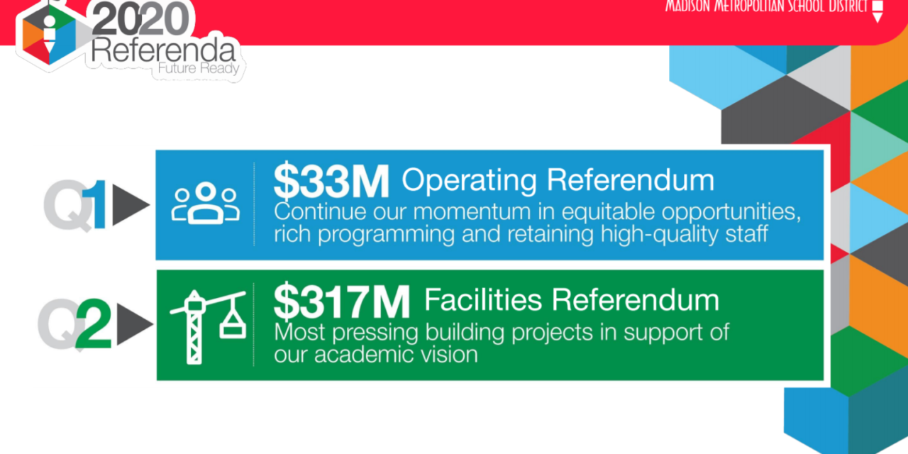 Amidst Pandemic, Madison Metropolitan School Board Approves $350 Million Referendum Ask