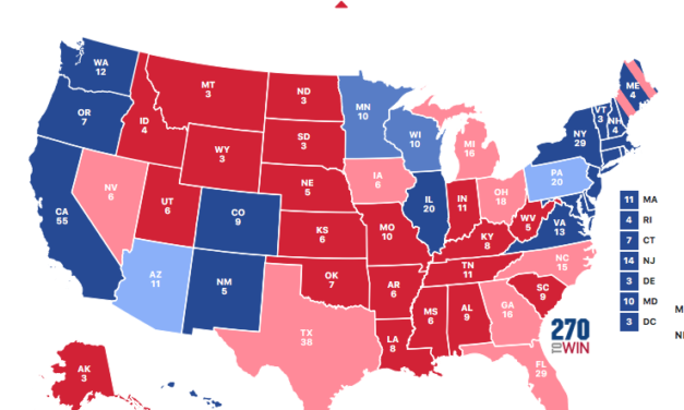 Wisconsin Falling Off the Trump Electoral Map