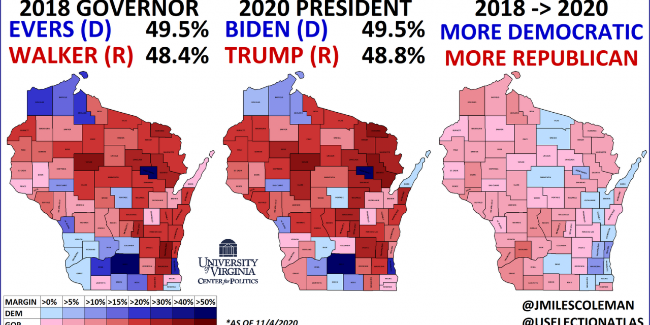 Wisconsin Race for Governor Rated a Toss-Up